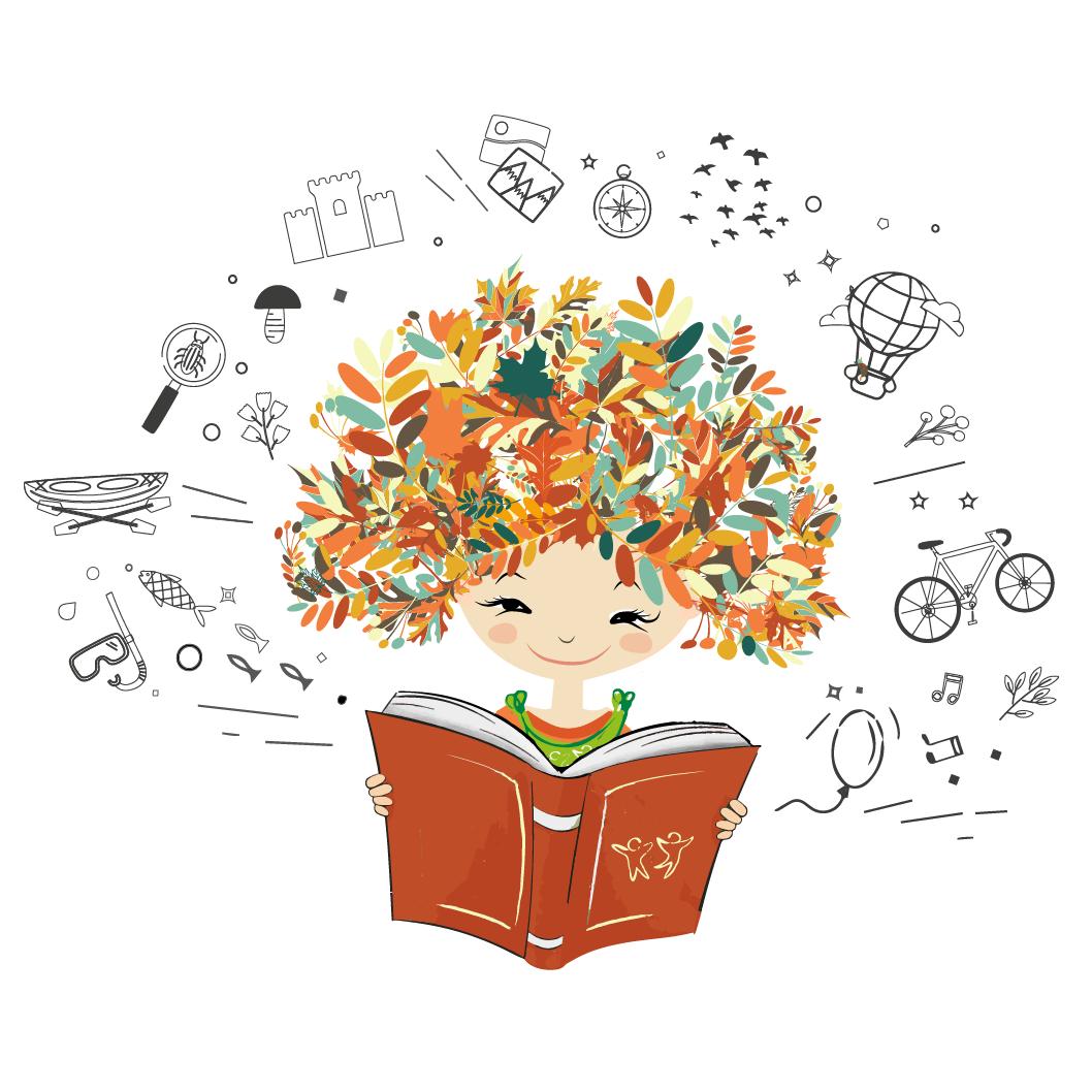Flora l'écotouriste et son livre de DécouVertes des saveurs et savoir-faire des terroirs des Stations Vertes en automne