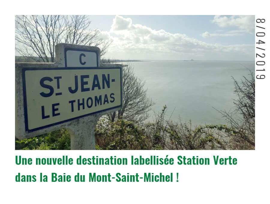dee1858c2dd Saint-Jean-le-Thomas labellisée Station Verte